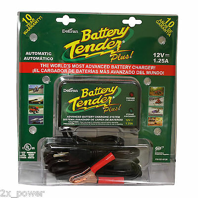 12 Volt Battery Tender Plus Battery Charger 021 0128 Maintainer Super Smart 12V
