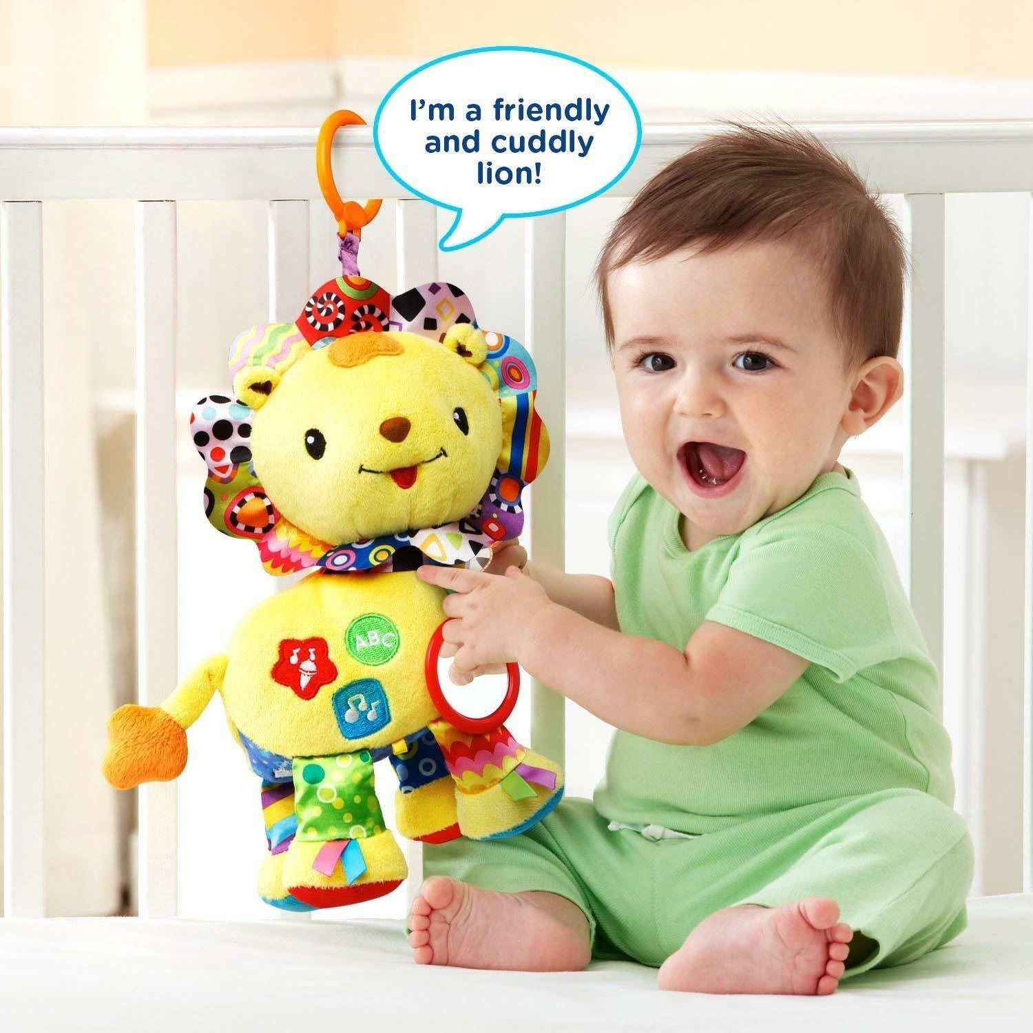 VTech Baby Crinkle and Roar Lion FREE SHIPPING