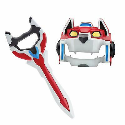 Playmates Voltron Red Lion Legendary Defender Gear Costume Play Kids Toy