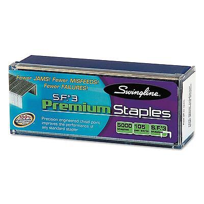 Swingline S.F. 3 Premium Chisel Point 105 Count Half Strip Staples 5000/Box New