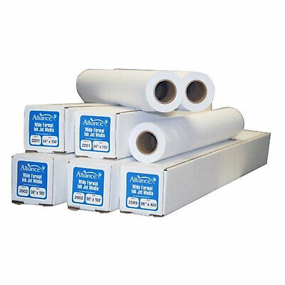 Alliance 30150 Cad 30 Inch X 150 Foot Bond Paper Roll With 2 Inch Core 4 Pack
