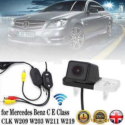 Wireless Car Reverse Camera for Mercedes Benz C E Class CLK W209 W203 W211 W219