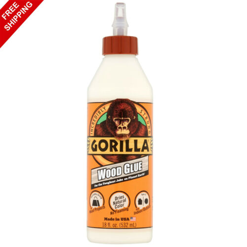 Gorilla Wood Glue Natural Wood Color, 18 ounce Bottle