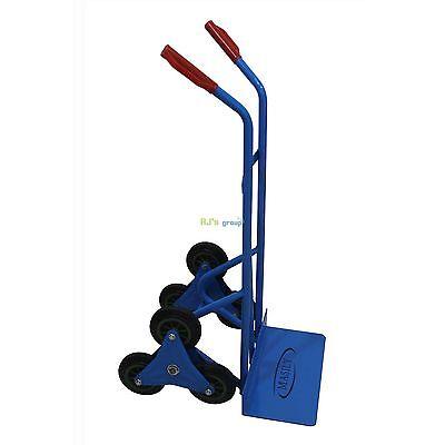 Treppenkarre blau 200kg Sackkarre Transportkarre Treppensteiger Stapelkarre