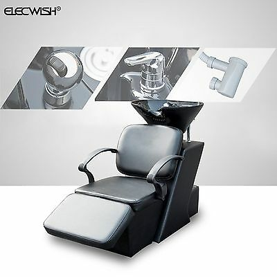 Shampoo Salon Backwash Bowl Sink Barber Chair Unit Station Beauty Spa Equipment