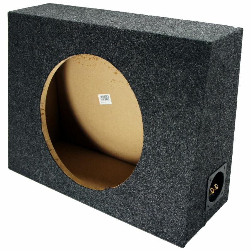 "Single 12"" Subwoofer Universal Standard Cab Truck Sub Box Enclosure Speaker"