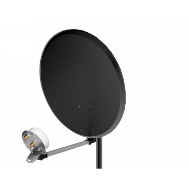 4G/LTE 24dBi 1700-2100MHz Parabolic Dual HV Dish Outdoor Antenna