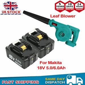 For Makita 18V Li-ion Battery Cordless Blower Vacuum Garden Yard Leaf Dust Tool