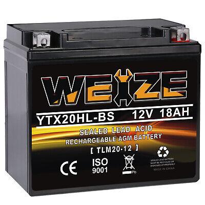 AGM Battery for HARLEY-DAVIDSON FXST FLST Softail 1450CC 2000 2001 2002 2003-06