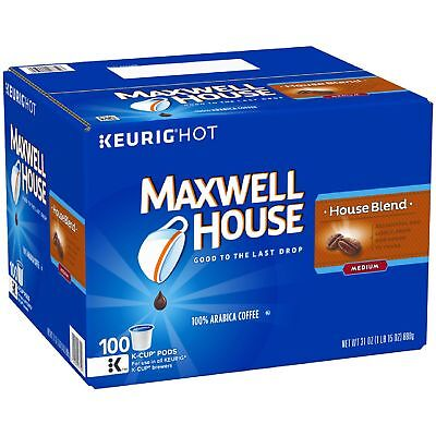Maxwell House, House Blend Coffee (100 K-Cups) BEST DEAL .