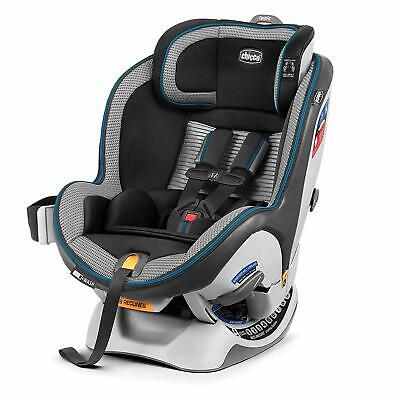 New Chicco NextFit Zip Air Convertible Car Seat in Azzurro Free