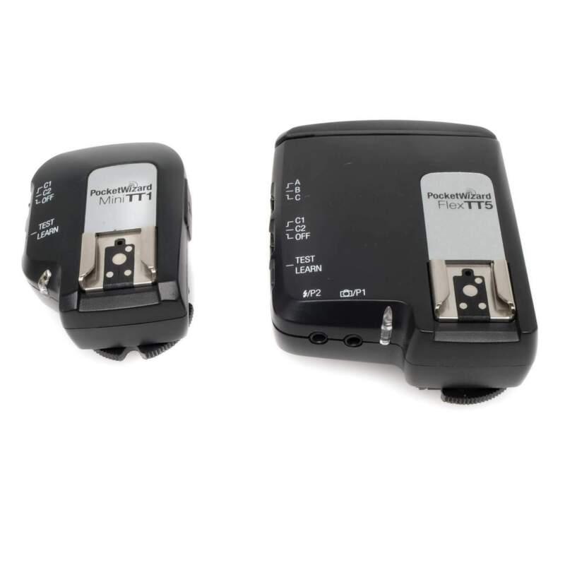 PocketWizard MiniTT1 + FlexTT5 Nikon Transmitter / Receiver Set