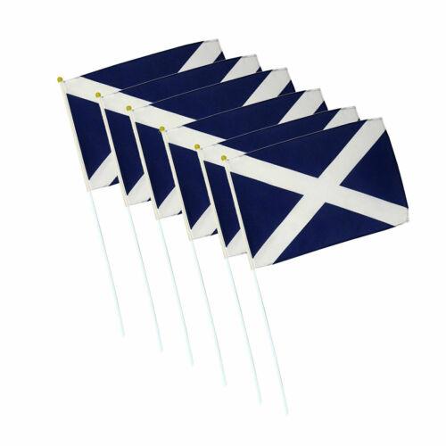 Scotland National Football 2020 2021 Handheld Waving St Andrews Nylon Hand Flags