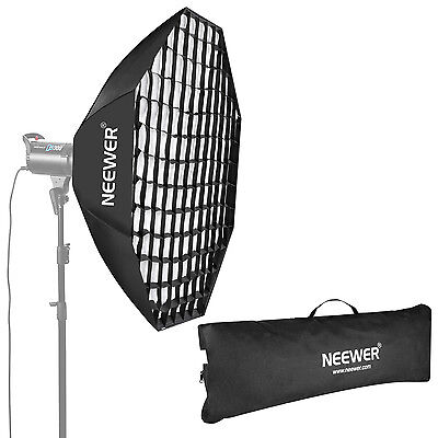 "NEEWER 47"" OCTAGON Beehive Softbox with Grid Bowens Mount"