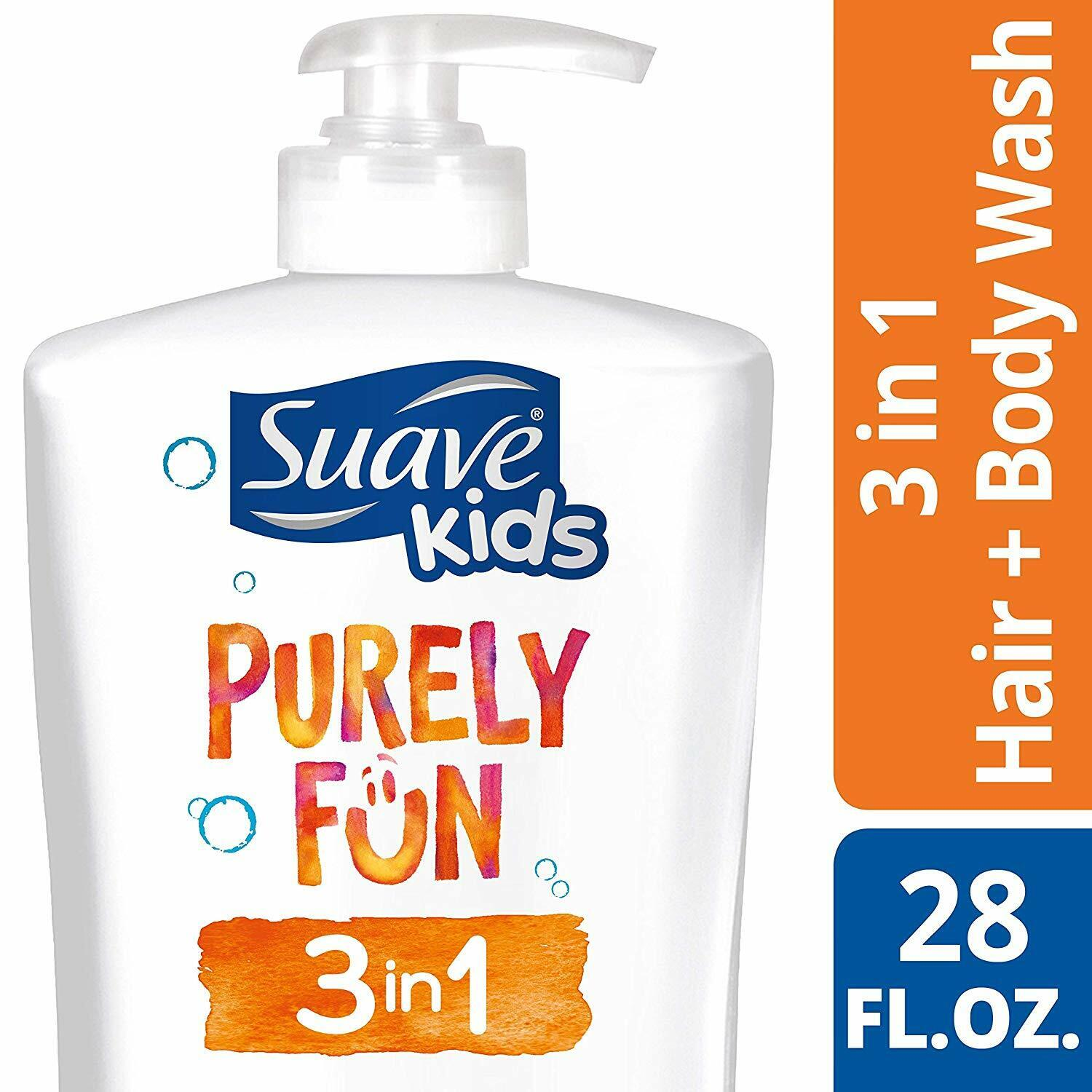 purely fun 3in1 shampoo conditioner body wash