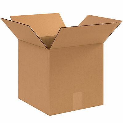 12 X 12 X 12 Cube Cardboard Corrugated Boxes 65 Lbs Capacity Ect-32 Lot Of