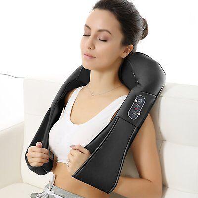 Naipo 150DC Shiatsu Nacken Schulter Massage 3D-Rotation Masseur für Haus Büro