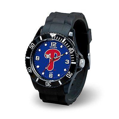 Philadelphia Phillies Spirit Watch Team Color Logo Black Band MLB Baseball
