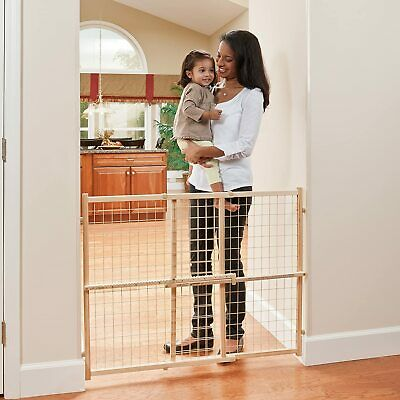 Evenflo Position and Lock Tall Pressure Mount Wood Gate 31- 50 inches
