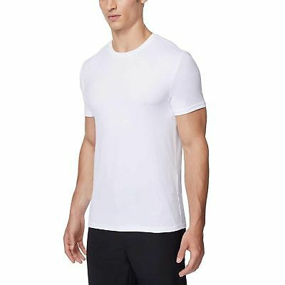 NWT 2 Pack Mens 32 Degrees Cool Soft Feel Crewneck T-Shirt Tee Undershirt  2 Pack Crewneck T-shirt