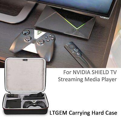 Ltgem Eva Case For Nvidia Shield Tv Streaming Media Player Remote Controller Bag