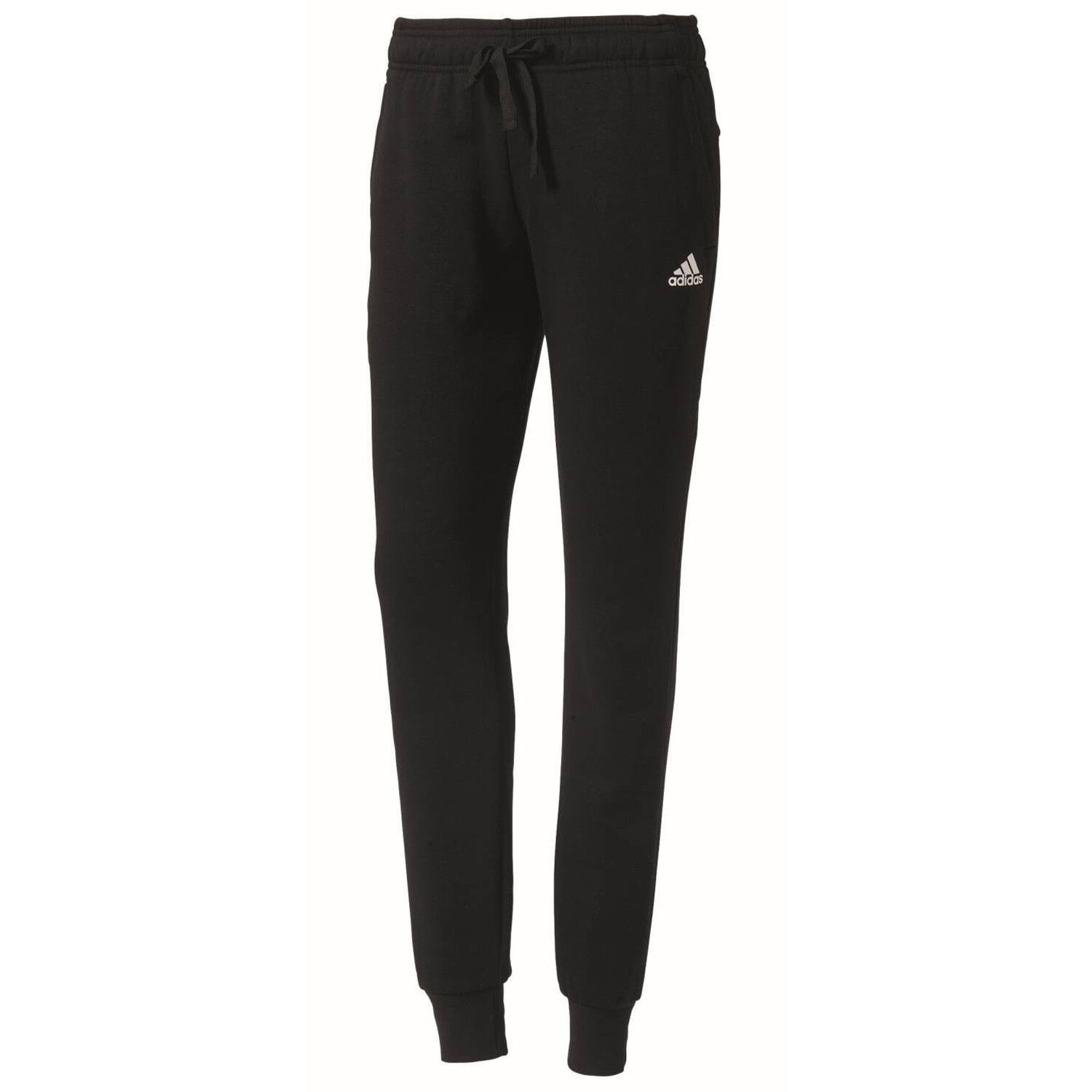 71c6bb34781945 adidas Essentials Solid Hose Damen Jogginghose Fitness Sweatpant schwarz  S97159