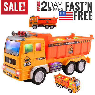 Toys for Boys Truck Kids Toddler Construction Car 3 4 5 6 7 8 Year Old Boy Cool
