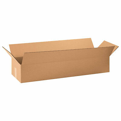 30 X 8 X 8 Long Cardboard Corrugated Boxes 65 Lbs Capacity 200ect-32 Lot
