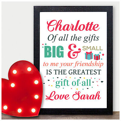 Friendship Gifts for Her Personalised Birthday Best Friends Gifts for BFF
