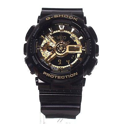 Casio G-Shock GA-110GB-1A BLACK /GOLD Men's Watch Fast Shipping