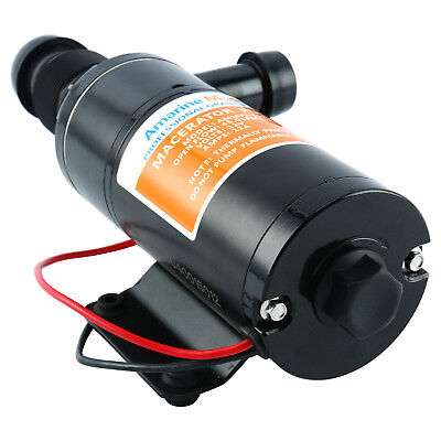 New Macerator Pump Waste Water Pump 12V 12GPM Replaces Jabsco 18590-2092 Shurflo for sale  USA