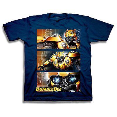 Transformers Bumblebee Movie 3-Panel Boys Short Sleeve Tee](Transformers Boy)