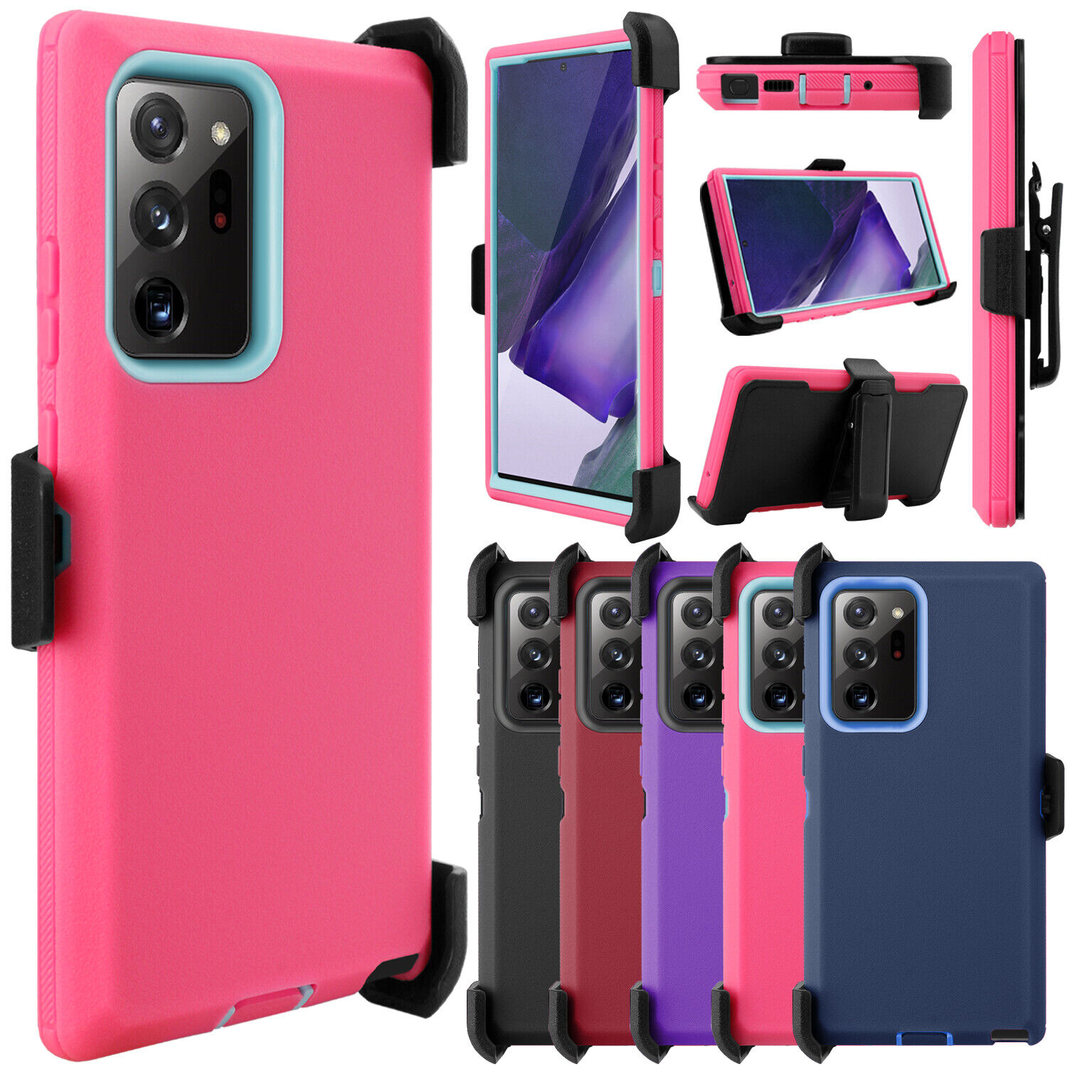 For Samsung Galaxy Note 20/20 Ultra 5G Case Shockproof Defen