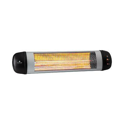 [B-Stock] Patio Radiant Heater Garden Outdoor Heating 2500W Timer LED Wall Remot