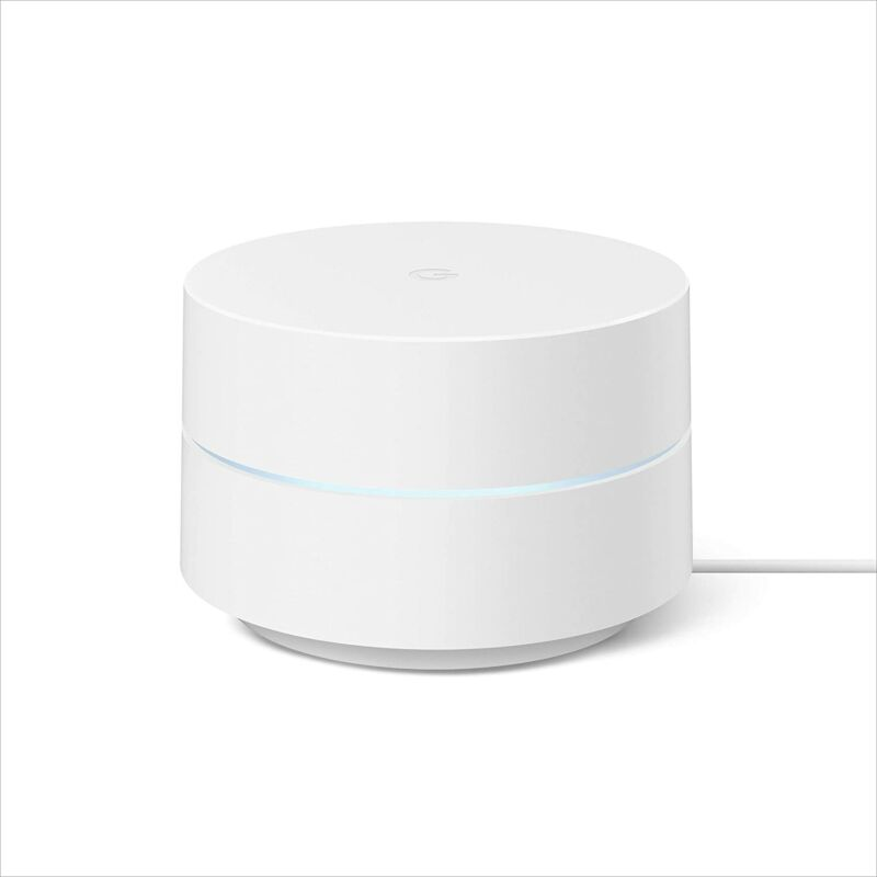 Google Wifi Mesh Network System Router AC1200 Point 1-pack (GA02430-US)