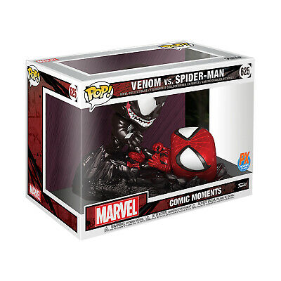 PX Exclusive Funko POP COMIC MOMENT MARVEL SPIDER-MAN VS VENOM  Vinyl Figure