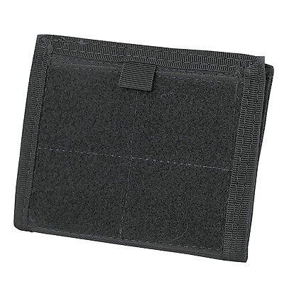 Condor Tactical MOLLE Admin ID Holder Panel Zipper Pocket Pouch Wallet Black