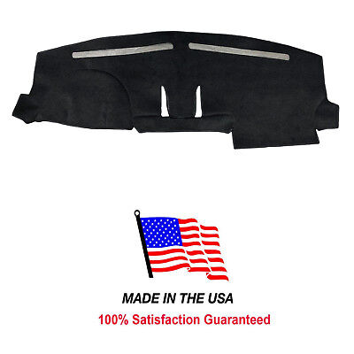 Black Carpet Dash Mat Compatible with 2018-2019 Ford Expedition Dash Cover