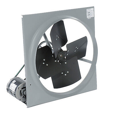 42 Exhaust Fan - Belt Driven - 14800 Cfm - 120 Volts - 34 Hp - 1 Ph - 11 Amps