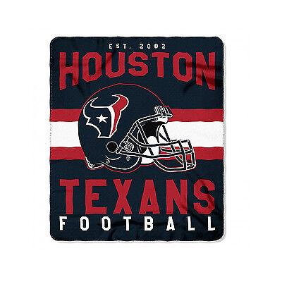 New Style Football Houston Texans Fleece blanket Soft Throw 50