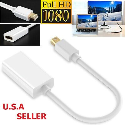 Mini Display Port DP to HDMI Adapter Cable for MacBook Pro Air Mac Thunderbolt
