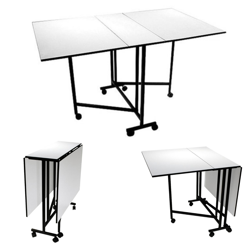 - Home Craft Hobby Table Half-Folded Full Size Folding Flip Flop
