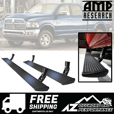 Amp Research Running Board Power Steps 2010-2018 Dodge Ram 2500 3500 Pickup