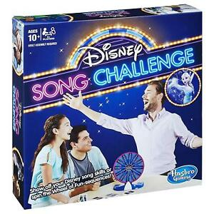 Disney Song Challenge Family Board Game