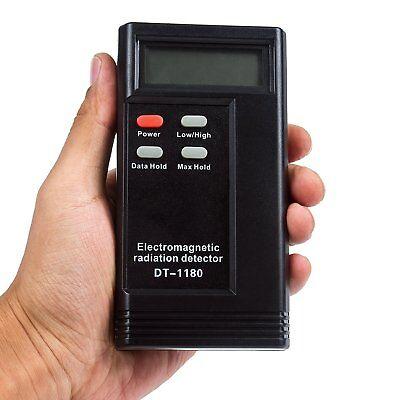 Emf Gauss Meter Electromagnetic Radiation Detector Dosimeter Tester Lcd Digital