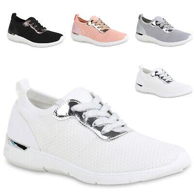 Damen Sportschuhe Lack Laufschuhe Metallic Schuhe Schnürschuhe 822279 Trendy Neu Metallic-schuhe