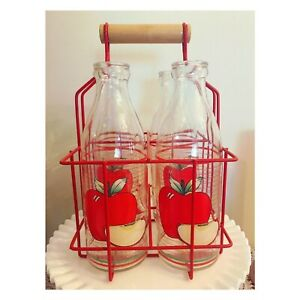 Vintage Apple juice jug set (made in Italy)