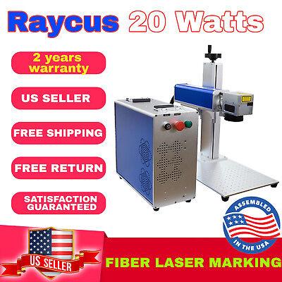 Us Seller Fiber Marking Machine Laser Engraving 20w