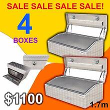 Aluminium Combo Toolboxes Ute Truck Combo Set Tray Hilux Triton Prestons Liverpool Area Preview