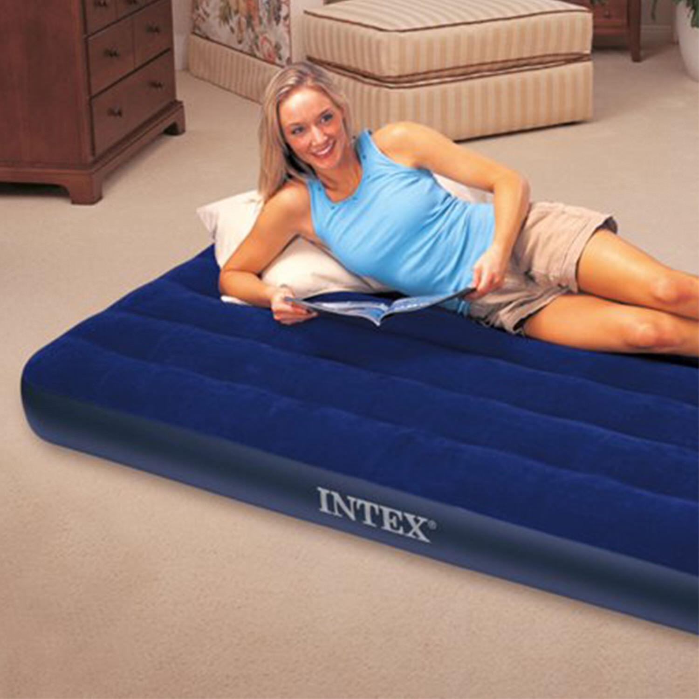 Inflatable Air Bed Travel Camping Mattress Sleeping Rest Mat